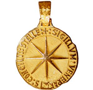 creación de la joya que reproduce el sello cereo medieval