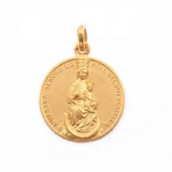 Medalla Virgen del Puy. Oro 18 kt.