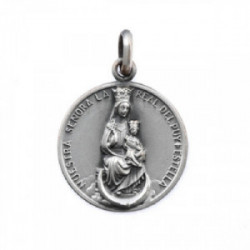 Medalla Virgen del Puy. Plata.