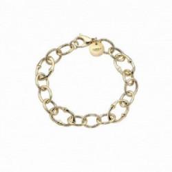 Pulsera Links de plata dorada