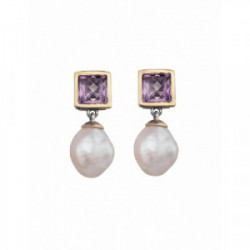 Pendientes Styliano amtista perla