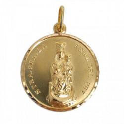 Virgen del Puy oro de 18k 26mm